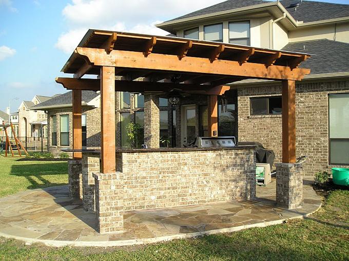 Pergolas Houston Let Decks Plus Design Beautiful