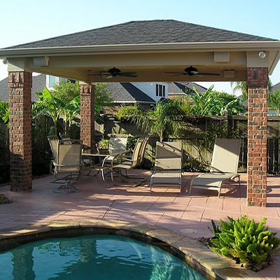 Outdoor Kitchens Houston   Porch Houston   Pavers Houston   Patio Covers